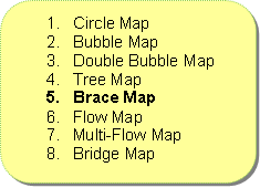 Brace Map Recommended Order of TMS